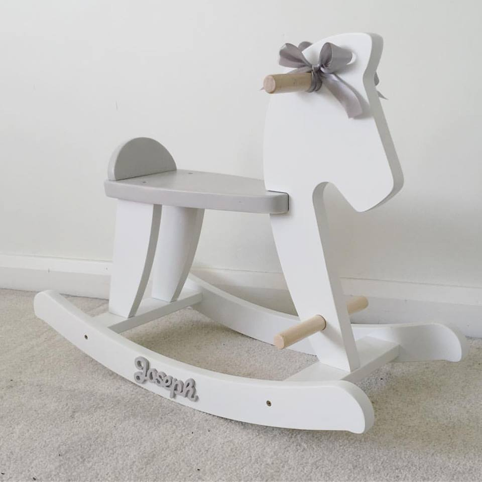 Personalised Rocking Horse Love Unique Personal