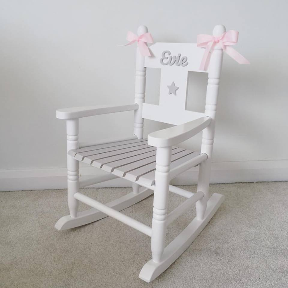 Personalised Rocking Chair Love Unique Personal