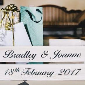 Personalised Wedding Crate