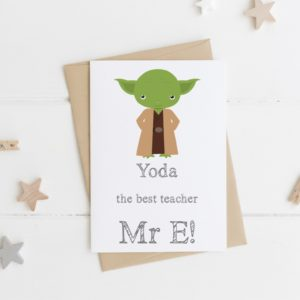 best' Teacher Card