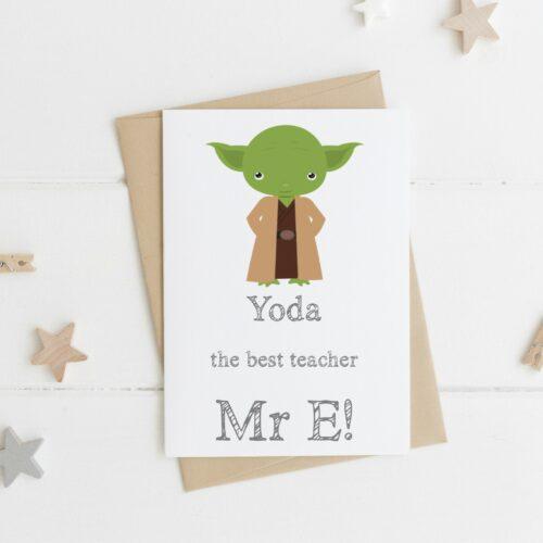 best' Teacher Card
