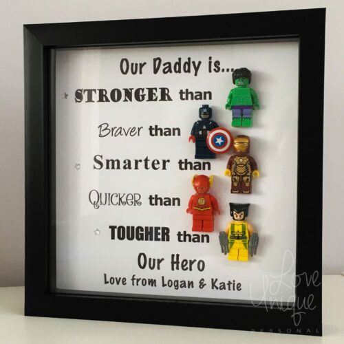 Personalised Superhero Frame