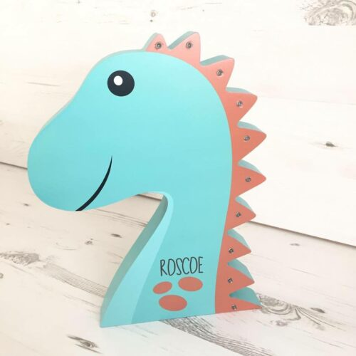 Dinosaur personalised LED light