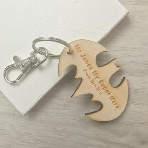 Teacher superhero magnet or keyring
