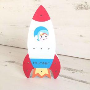 Personalised LED Rocket