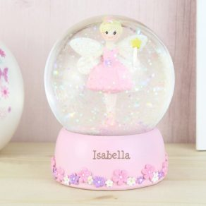 Fairy Personalised Name Snow Globe