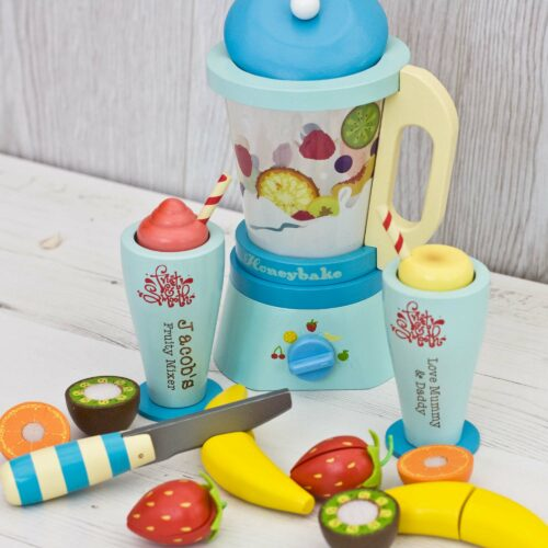 Personalised Wooden Toy Blender set