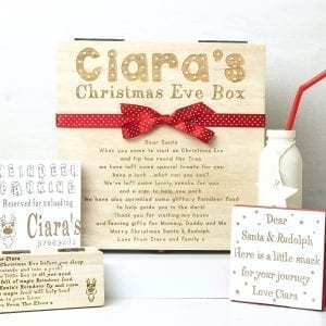 NEW Personalised Christmas Eve DELUXE Santa Box