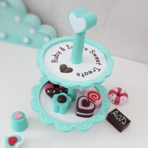 Personalised Wooden Cake Stand Toy