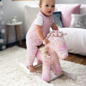 Pixie and Fluff Personalised Rocking Horse