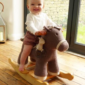 Bobble & Pip Personalised Rocking Horse