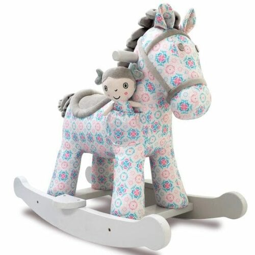 Rosie & Mae Personalised Rocking Horse