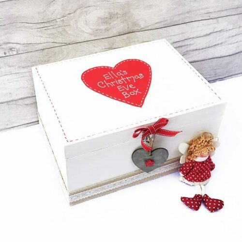 Christmas Eve Wooden Keepsake Box