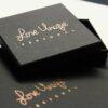 Black & Rose gold gift box