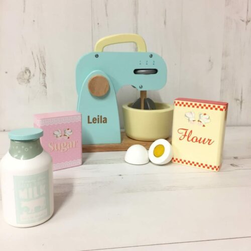Personalised Mixer Set Toy