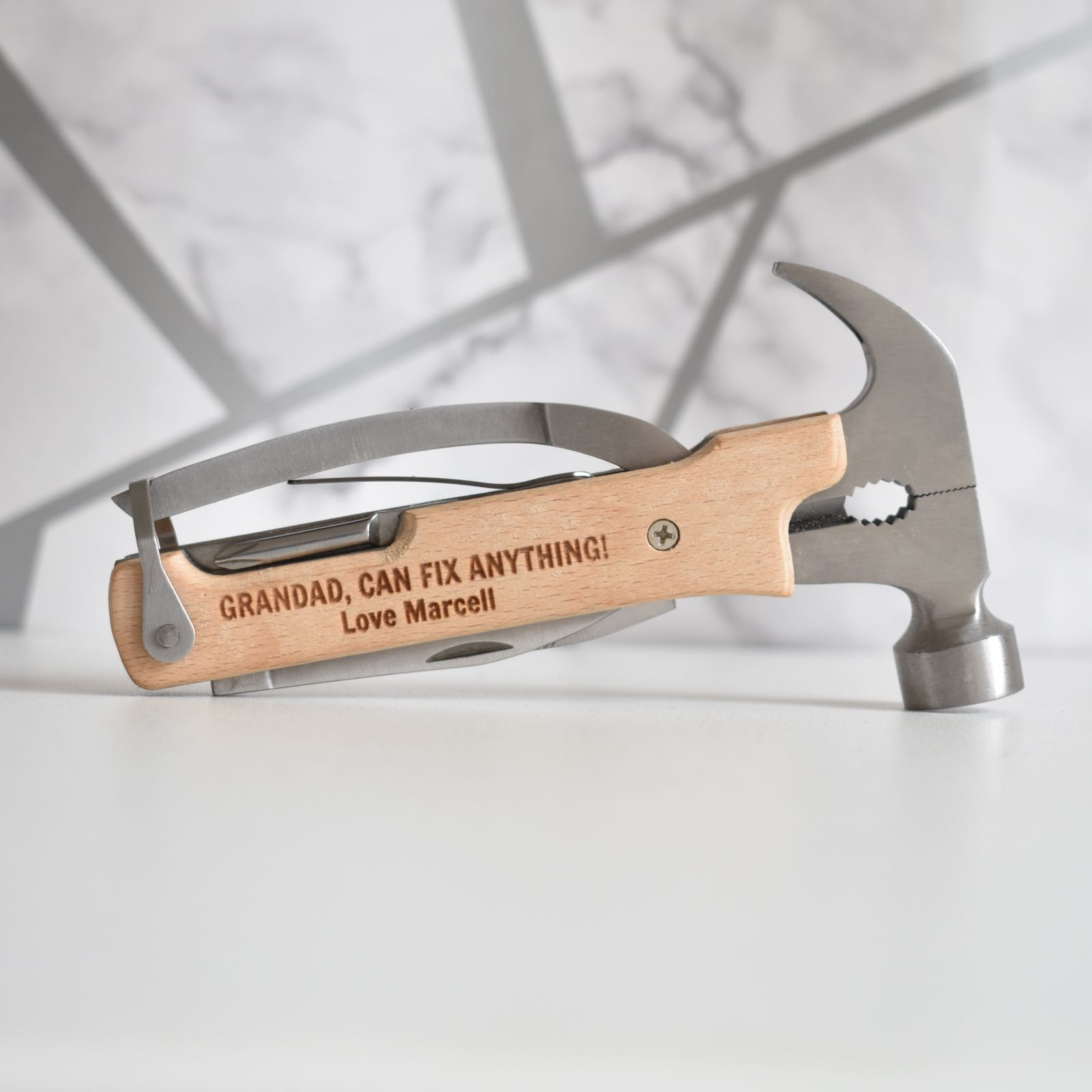 Personalised Hammer Multi Tool