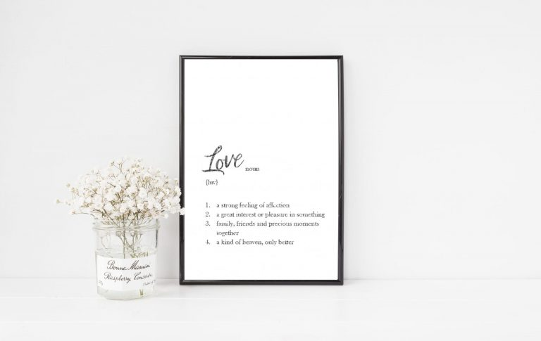 Dictionary Definition Personalised Print