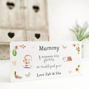 Personalised Printed Block - Mummy