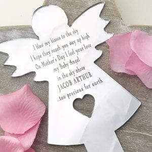 Angel Baby Mothers Day Angel Planter Stick