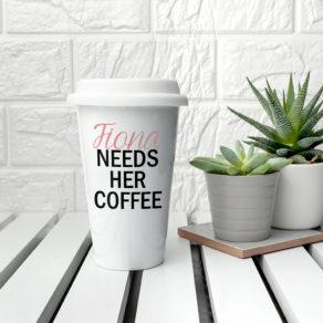 Personalised Mama's Got Needs Travel Mug