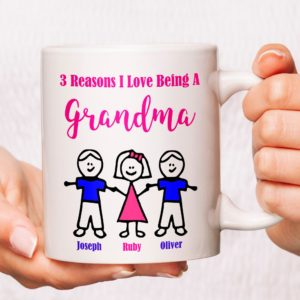 Reasons I Love Being a Grandma Mug