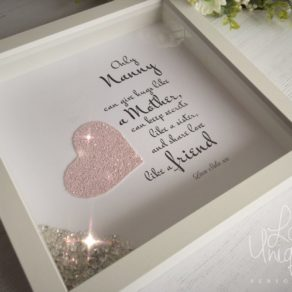 Only Nanny Personalised Box Frame