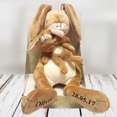 Guess How Much I Love You Personalised Lullaby Hare