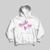 Personalised Bride to be Hoodie