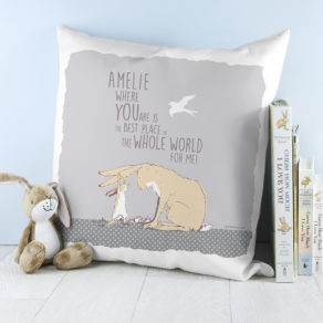 Personalised Guess How Much I Love You Best Place In The World Cushion Cover