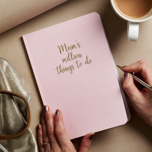 Personalised Busy Mum's Notebook