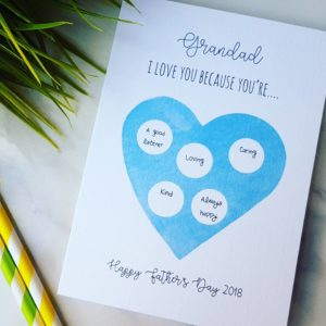 Reveal Father's Day Card