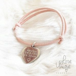 Adult Personalised Individual Premium Bracelet with Charms
