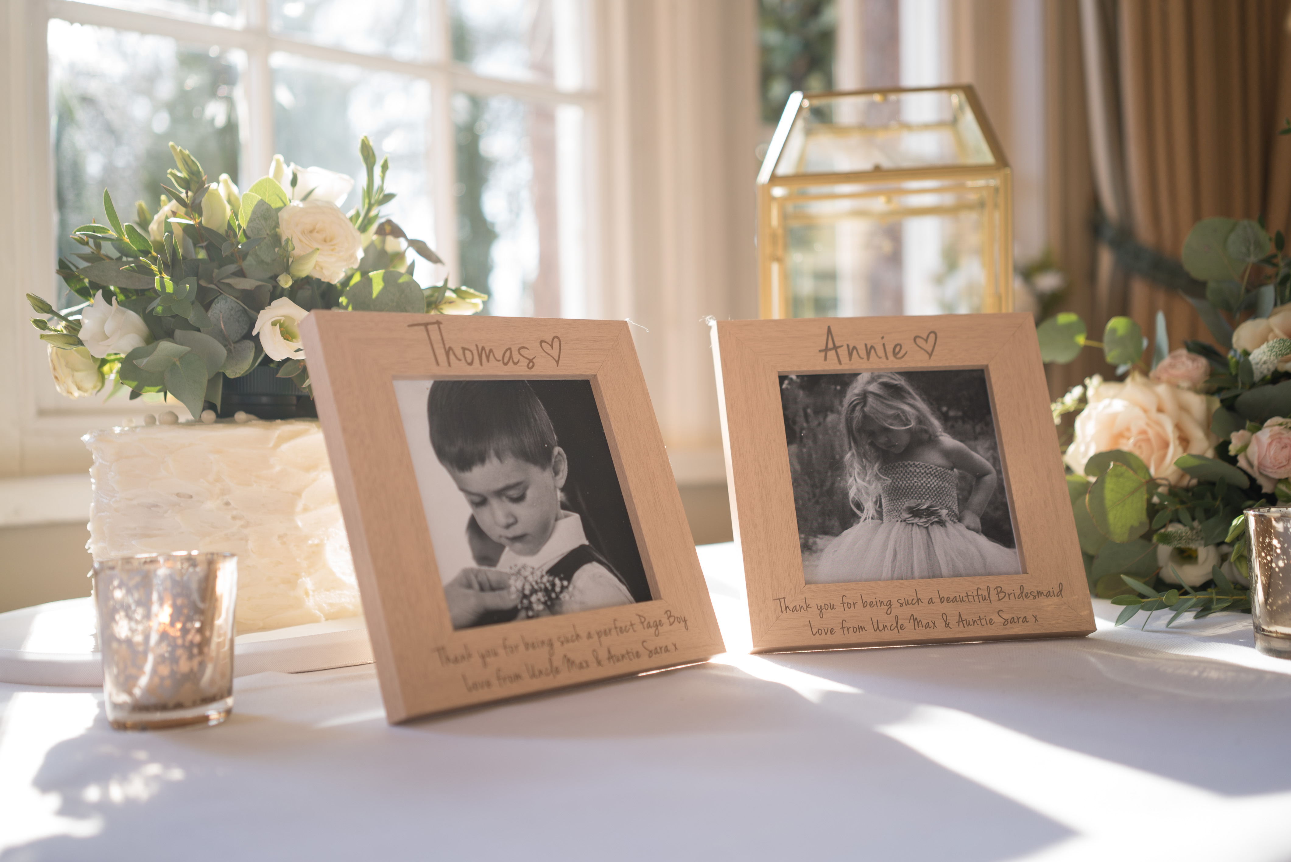 Thank You For Being Our Page Boy (Ring Bearer) Photo Frame | Love ...