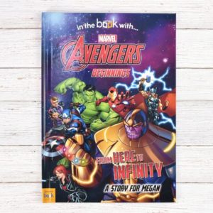 Personalised Avengers Beginnings Book