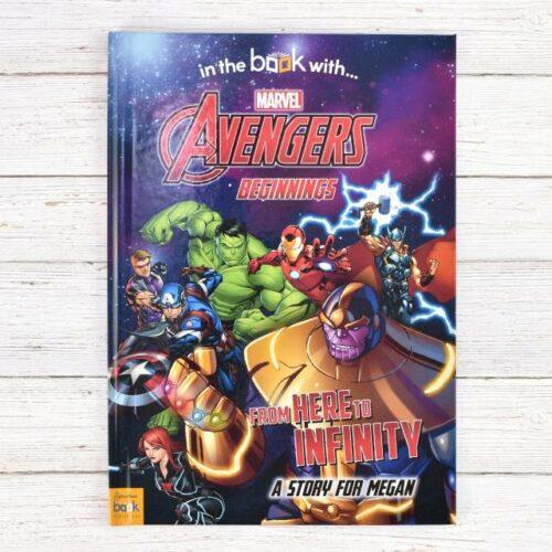 Personalised Avengers Beginnings Book