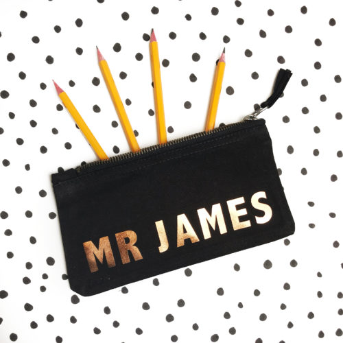 Personalised Teacher Pencil Case Gift