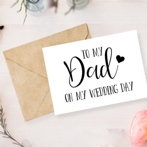 Wedding Day Greetings Card