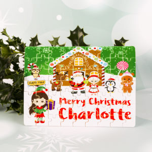 Personalised Christmas Jigsaw