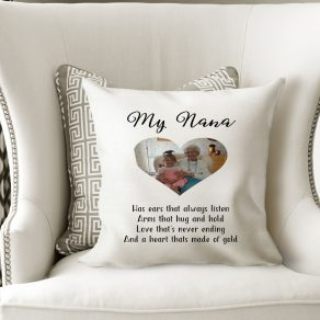 Personalised Photo Upload Cushion Cover