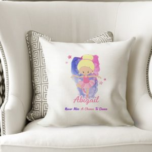 Personalised Ballet Cushion Cover
