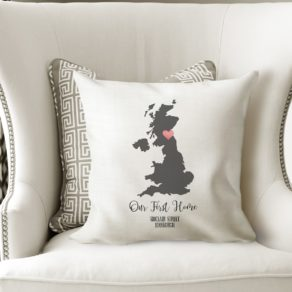 Personalised Destination Cushion