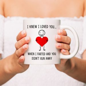 I Knew I Loved You Personalised Mug