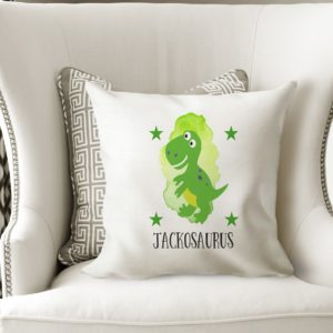Personalised Dinosaur Cushion