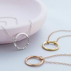 Personalised Full Circle Necklace