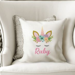 Personalised Unicorn Cushion Cover