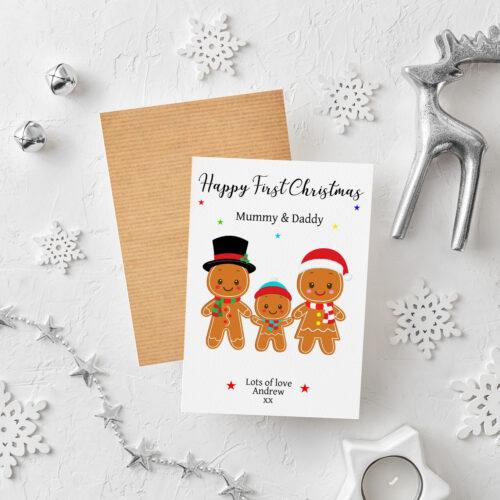Parents / Grandparents Christmas Card