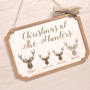 Christmas Plaques