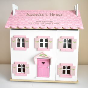 Personalised Sophie's Wooden Dolls House