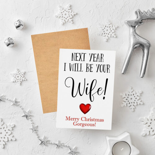 Wife Christmas Card