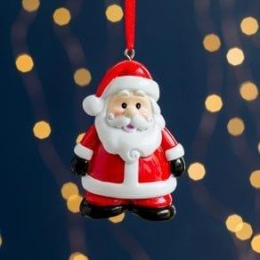 Personalised Santa Character Christmas Tree Decoration